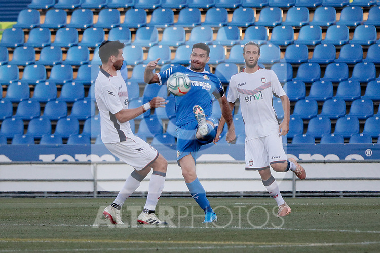 Getafe CF's Jorge Molina during Preseason match between Getafe CF and Crotone FC at Colisseum Alfonso Perez in Getafe, Spain. August 02, 2019. (ALTERPHOTOS/A. Perez Meca)