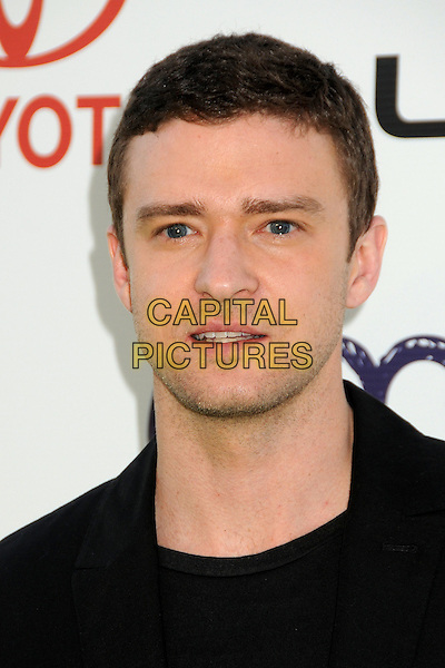 Justin Timberlake .2011 Environmental Media Awards held at Warner Bros. Studios, Burbank, California, USA, 15th October 2011 .portrait headshot black  stubble mouth open  .CAP/ADM/BP.©Byron Purvis/AdMedia/Capital Pictures.