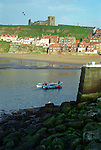 Whitby Harbour with St. Mary's Church & the Abbey