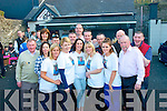 Claire McEvoy, Rock Pk Av, Tralee (front centre) wife of the late Brendan McEvoy, who was joined by over 240 people for the inaugural Brendan McEvoy Memorial Mount Brandon walk on Sunday last pictured here surrounded by Brendans sisters and former work colleagues from KGH at Skelper Quane's bar, Blennerville, afterwards, all proceeds will be donated to Oncology Unit and Kerry Hospice.