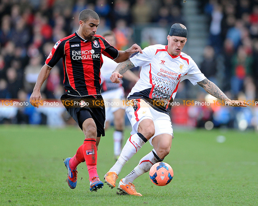 - AFC Bournemouth vs Liverpool - FA Cup 4th Round Football at the Goldsands Stadium, Bournemouth, Dorset - 25/01/14 - MANDATORY CREDIT: Denis Murphy/TGSPHOTO - Self billing applies where appropriate - 0845 094 6026 - contact@tgsphoto.co.uk - NO UNPAID USE