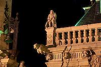 Rathaus von Astorga in Palast aus dem 17. Jh., Kastilien-Leon, Spanien