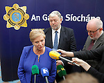 10/09/2015<br /> Minister for Justice and Equality Frances Fitzgerald TD pictured at the Garda Graduation Ceremony at the Garda College, Templemore, Co. Tipperary.<br /> Pic: Press 22