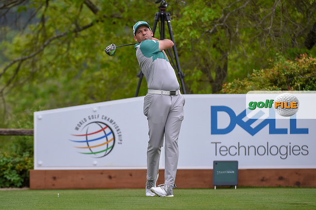 Sergio Garcia (ESP) watches his tee shot on 6 during day 4 of the WGC Dell Match Play, at the Austin Country Club, Austin, Texas, USA. 3/30/2019.<br /> Picture: Golffile   Ken Murray<br /> <br /> <br /> All photo usage must carry mandatory copyright credit (© Golffile   Ken Murray)