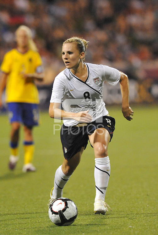 Amy Rodriguez...USWNT tied Sweden 1-1 at Morison Stadium, Nebraska.