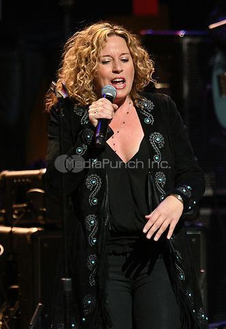 NEW YORK, NY - March 9 : Amy Helm Performs on stage at 'Love Rocks NYC! A Change is Gonna Come: Celebrating Songs of Peace, Love and Hope' A Benefit Concert for God's Love We Deliver at Beacon Theatre on March 9, 2017 in New York City. @John Palmer / Media Punch