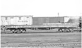 Side view of D&amp;RGW flatcar #1770 at Alamosa.  In the background are standard gauge outfit boxcar #X2339 and D&amp;SL boxcar #53021.<br /> D&amp;RGW  Alamosa, CO  Taken by Richardson, Robert W. - 1/18/1953