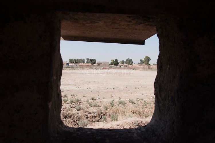 20/07/14  Iraq -- Daquq, Iraq -- A view of ISIS controlled territory in Albu Muhamad village in Daquq.