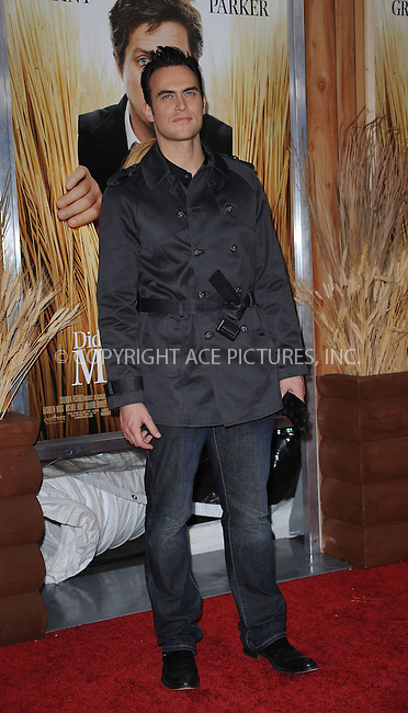 WWW.ACEPIXS.COM . . . . . ....December 14 2009, New York City....Actor Cheyenne Jackson arriving at the Premiere of 'Did you here about the Morgans?' at the Ziegfeld Theatre on December 14 2009 in New York City....Please byline: KRISTIN CALLAHAN - ACEPIXS.COM.. . . . . . ..Ace Pictures, Inc:  ..(212) 243-8787 or (646) 679 0430..e-mail: picturedesk@acepixs.com..web: http://www.acepixs.com