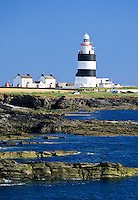 Ireland, County Wexford, Hook Peninsula: Hook Head Lighthouse | Irland, County Wexford, Hook Peninsula: Hook Head Leuchtturm