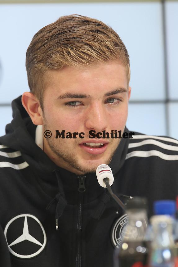 Christoph Kramer - Pressekonferenz der DeutschenNationalmannschaft   im Rahmen der WM-Vorbereitung in St. Martin
