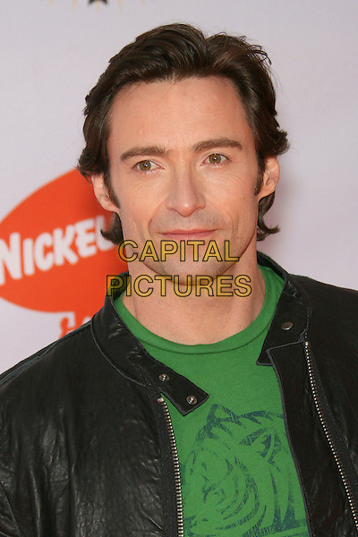 HUGH JACKMAN.Nickelodeon's 19th Annual Kids' Choice Awards held at Pauley Pavilion, Westwood, California, USA.  .April 1st, 2006.Photo: Zach Lipp/AdMedia/Capital Pictures.Ref: ZL/ADM.headshot portrait .www.capitalpictures.com.sales@capitalpictures.com.© Capital Pictures.