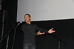 """Joseph Anthony Byrd sang """"""""Let It Sing"""" at the 4th Annual Curtains Up for a Cure benefitting Huntington's Disease Society of America on January 31, 2011 at Village Cinema East, New York City, New York. (Photo by Sue Coflin/Max Photos)"""