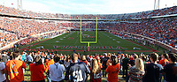 Nov 13, 2010; Charlottesville, VA, USA; Virginia Cavaliers Scott stadium during the game against the Maryland Terrapins. Maryland won 42-23.  Mandatory Credit: Andrew Shurtleff