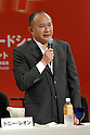 "John Woo attends a press conference Wednesday during a promotion for their new film ""Red Cliff."" It opens Nov 1 after its debut at the Tokyo International Film Festival in October.  6 August, 2008. (Taro Fujimoto/JapanToday/Nippon News)"