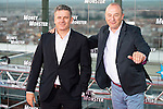 """Roberto Arce and Nacho Aranda during the premiere of the American Film """"Money Monster"""" at the Roof of the Torre Picasso in Madrid. May 18 2016. (ALTERPHOTOS/Borja B.Hojas)"""