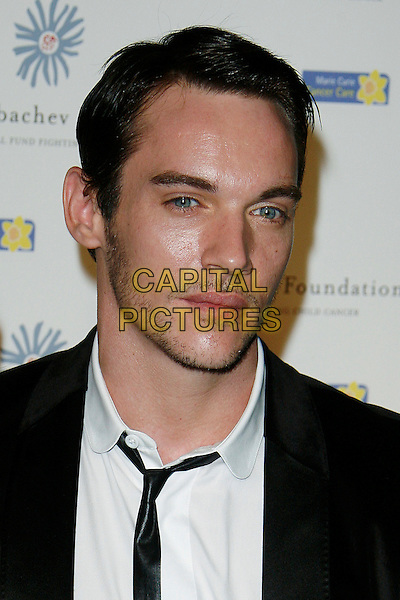 JONATHAN RHYS MEYERS.At the Russia Midsummer Fantasy, in aid of the Raisa Gobachev Foundation,.Stud House, Home Park, Hampton Court, England, UK, 7th June 2008.portrait headshot white shirt black tie.CAP/DAR.©Darwin/Capital Pictures