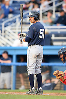July 24 2008:  Ben Guez of the Oneonta Tigers, Class-A affiliate of the Detroit Tigers, during a game at Dwyer Stadium in Batavia, NY.  Photo by:  Mike Janes/Four Seam Images
