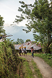 INDONESIA, Flores, women return from the fields in the early evening, Saga Village