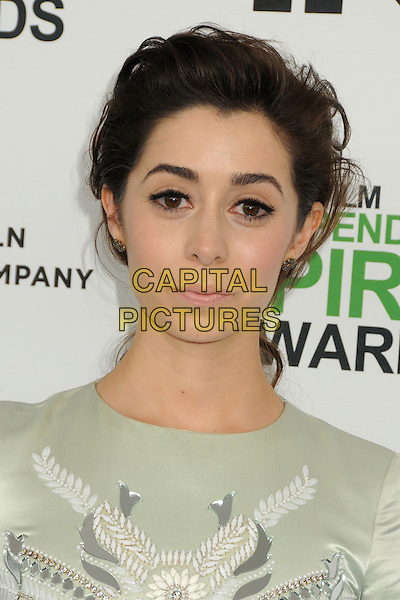 1 March 2014 - Santa Monica, California - Cristin Milioti. 2014 Film Independent Spirit Awards - Arrivals held at Santa Monica Beach. <br /> CAP/ADM/BP<br /> &copy;Byron Purvis/AdMedia/Capital Pictures