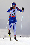 Kerttu Niskanen in action during the Women 5 km Classic Individual in Val Di Fiemme<br /> <br /> &copy; Pierre Teyssot