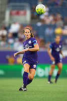 Orlando, FL - Sunday July 10, 2016: Maddy Evans during a regular season National Women's Soccer League (NWSL) match between the Orlando Pride and the Boston Breakers at Camping World Stadium.