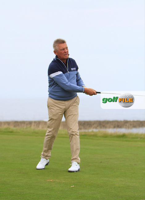 David Kilburn during Round 2 of the Alfred Dunhill Links Championship at Kingsbarns Golf Club on Friday 27th September 2013.<br /> Picture:  Thos Caffrey / www.golffile.ie