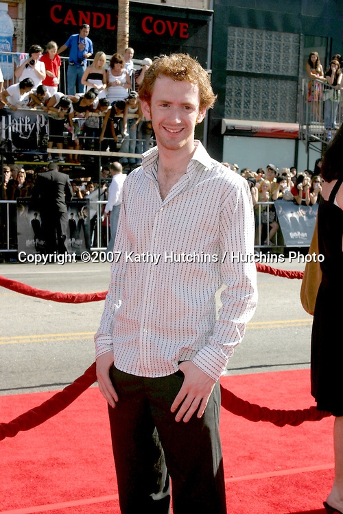 "Chris Rankin.U.S. Premiere of ""Harry Potter and the Order of the Phoenix"".Grauman's Chinese Theater.Los Angeles, CA.July 8, 2007.©2007 Kathy Hutchins / Hutchins Photo..."