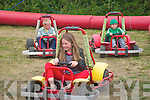 Kilflynn Vintage Rally: Enjoying the go cart driving at the Kilflynn Vintage rally on Sunday were Jack Clifford & his sister Naimh Clifford, Cahirciveen and Sean Toomey, Kilflynn.