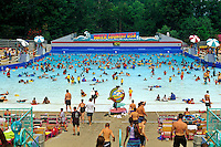 Water Country wave pool at Busch Gardens, Williamsburg, Virginia