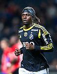 Solna 2013-09-30 Fotboll Allsvenskan AIK - &Ouml;sters IF :  <br /> AIK 9 Martin Kayongo Mutumba <br /> (Foto: Kenta J&ouml;nsson) Nyckelord:  portr&auml;tt portrait
