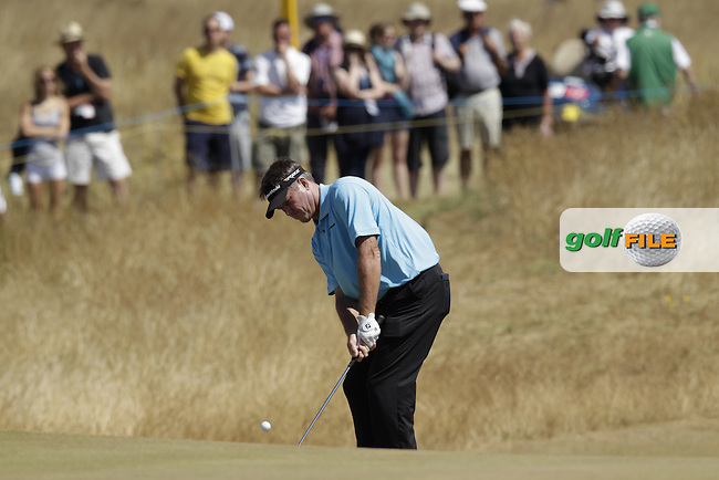 Todd HAMILTON (USA) during round two of  The 142th Open Championship Muirfield, Gullane, East Lothian, Scotland 19/7/2013<br /> Picture Fran Caffrey www.golffile.ie: