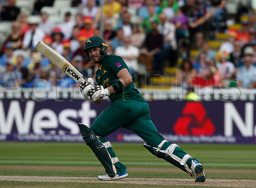 2nd September 2017, Edgbaston, Birmingham, England; Natwest T20 Blast Finals Day, Notts Outlaws versus Hampshire; Riki Wessels of Notts Outlaws at the crease