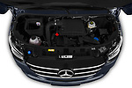 Car Stock 2019 Mercedes Benz Sprinter-Fourgon - 4 Door Cargo Van Engine  high angle detail view