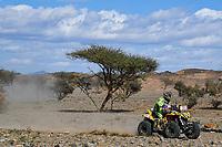 5th January 2020, Jeddah, Saudi Arabia;  260 Verza CarlAlejandro arg, Yamaha, Verza Rallye Team, Original by Motul, Quad during Stage 1 of the Dakar 2020 between Jeddah and Al Wajh - Editorial Use