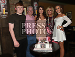 Jess Thompson celebrating her 21st birthday in Donaghy's with parents Seamie and Orla, brother Jack and sister Rebecca. Photo:Colin Bell/pressphotos.ie