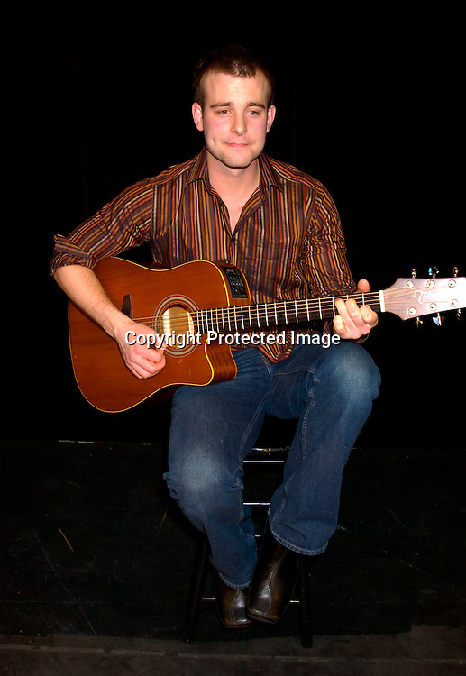 """Jay Wilkison singing..at the Musicals Tonight performance of """"A Celebration of ..Daytime Stars"""" on March 21, 2004 at the 14th Street Ymca. ..in New York City. ..Photo by Robin Platzer, Twin Images"""