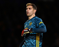 Emiliano Martínez of Arsenal during Portsmouth vs Arsenal, Emirates FA Cup Football at Fratton Park on 2nd March 2020