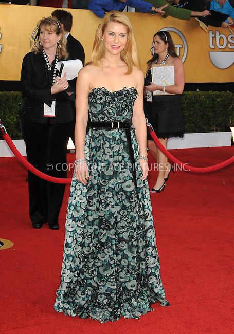 WWW.ACEPIXS.COM . . . . . ....January 30 2011, Los Angeles....Claire Danes arriving at the 17th Annual Screen Actors Guild Awards held at The Shrine Auditorium on January 30, 2011 in Los Angeles, CA....Please byline: PETER WEST - ACEPIXS.COM....Ace Pictures, Inc:  ..(212) 243-8787 or (646) 679 0430..e-mail: picturedesk@acepixs.com..web: http://www.acepixs.com