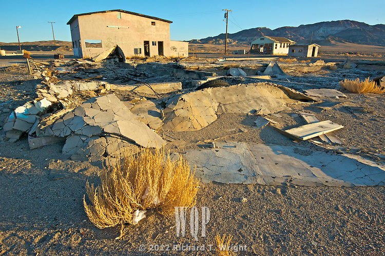 Abandoned Dreams - Coaldale Nevada abandoned when the dream of  a coalmine faded in a tonw wrapped with murder and mystery.
