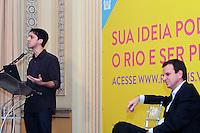 RIO DE JANEIRO, RJ, 05 SETEMBRO 2013 - PREFEITURA LANÇA PLATAFORMA DIGITAL RIO+  -  O idealizador da  plataforma digital Rio+ Murilo Farah participou do anuncio do projeto que é  mais uma parceria para tornar a gestão da cidade mais colaborativa, a adoção da plataforma digital Rio+  que permite a todo o cidadão enviar ideias criativas para melhorar o Rio de Janeiro, o portal a população pode sugerir ações e projetos criativos, que podem ser listados em 12 áreas como Cidadania, Comunidade e Mobilidade. No Palácio da Cidade em Botafogo, nessa quinta 05. (FOTO: LEVY RIBEIRO / BRAZIL PHOTO PRESS)