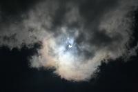 PORTO ALEGRE,RS, 26.02.2017 - ECLIPSE-SOLAR - Primeiro eclipse solar de 2017é visto da cidade de Porto Alegre neste domingo (Foto: Naian Meneghetti/Brazil Photo Press)