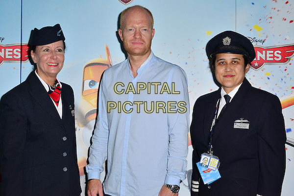 Jake Wood<br /> The &quot;Planes 3D&quot; VIP film screening, Odeon Leicester Square, Leicester Square, London, England.<br /> July 14th, 2013<br /> half length blue shirt stubble facial hair  pilots uniform stewards stewardess hat black<br /> CAP/BF<br /> &copy;Bob Fidgeon/Capital Pictures