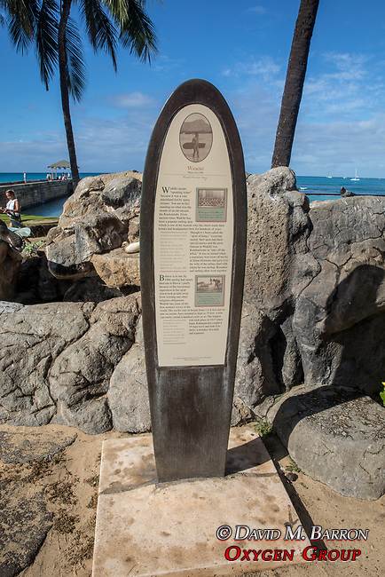Waikiki Beach Historical Trail