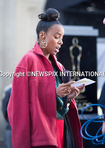 "KELLY ROWLAND.gets to grip with her script during final rehearsals before Oscar Day..""The Destiny's Child"" singer Kelly Rowland is the host for the red carpet pre-show at the 85th Annual Academy Awards, Hollywood, Los Angeles_23/02/2013.Rowland will be interviewing nominees and other A-list celebrities as they make their way down the carpet..Rowland's Oscar hosting follows from her New Orleans Super Bowl presenting..Mandatory Photo Credit: ©Dias/Newspix International..**ALL FEES PAYABLE TO: ""NEWSPIX INTERNATIONAL""**..PHOTO CREDIT MANDATORY!!: NEWSPIX INTERNATIONAL(Failure to credit will incur a surcharge of 100% of reproduction fees)..IMMEDIATE CONFIRMATION OF USAGE REQUIRED:.Newspix International, 31 Chinnery Hill, Bishop's Stortford, ENGLAND CM23 3PS.Tel:+441279 324672  ; Fax: +441279656877.Mobile:  0777568 1153.e-mail: info@newspixinternational.co.uk"