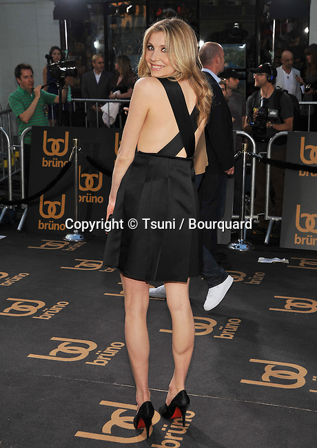 Sarah Chalke -<br /> Bruno Los Angeles Premiere at the Chinese Theatre In Los Angeles.