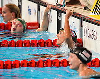 EFIMOVA Yuliya, Russia RUS, gold medal<br /> 100 breaststroke women <br /> Swimming - Nuoto <br /> Barcellona 4/8/2013 Palau St Jordi <br /> Barcelona 2013 15 Fina World Championships Aquatics <br /> Foto Andrea Staccioli Insidefoto