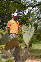 Joost Luiten (NLD) heads for the tee on 13 during day 4 of the Valero Texas Open, at the TPC San Antonio Oaks Course, San Antonio, Texas, USA. 12/31/2013.<br /> Picture: Golffile | Ken Murray<br /> <br /> <br /> All photo usage must carry mandatory copyright credit (© Golffile | Ken Murray)