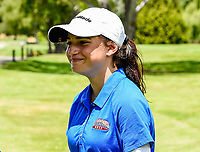 Silvia Brunotti  of North Harbour chips in to win her match. Toro New Zealand Womens Interprovincial Tournament, Waitikiri Golf Club, Christchurch, New Zealand, 4th December 2018. Photo:John Davidson/www.bwmedia.co.nz