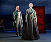 Three Days in the Country<br /> by Patrick Marber, after Turgenev <br /> at the Lyttelton Theatre, NT, Southbank, London, Great Britain <br /> Press photocall <br /> 27 July 2015 <br /> <br /> <br /> Mark Gatiss as Shpigelsky <br /> Lily Sacofsky as Vera <br /> <br /> Photograph by Elliott Franks <br /> Image licensed to Elliott Franks Photography Services